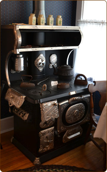 Restored 1899 wood stove